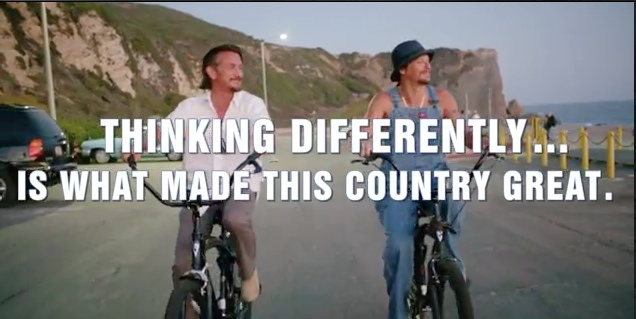 """Americans,"" a short, public service film starring Sean Penn and Kid Rock, directed by Jameson Stafford."