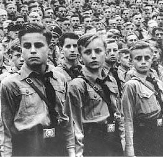 Hitler Youth photo from the link to be research paper on Hitler Youth by Kyle Frabotta